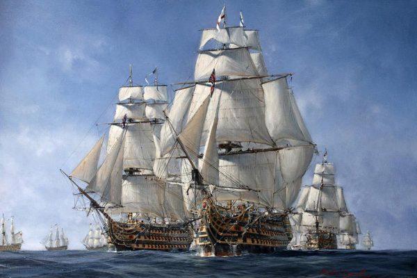 La battaglia della Manica e l'Invincibile Armada nel video di Atlantide